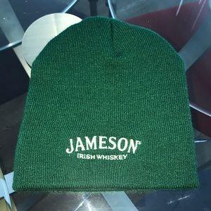 Green Jameson Irish whiskey unisex beanie